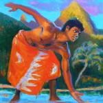 "Maui and MakanaOil 24"" x 18""Original isa Maria$1900"