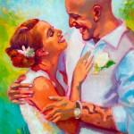 Kristen's wedding